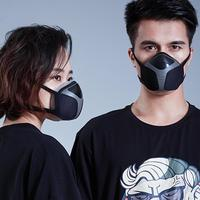 Adult Smart Portable Electric Mask Anti Fog Pm2.5 Formaldehyde Dust Proof Active Air Mask For Travel/ Cycling Fashion Breathable