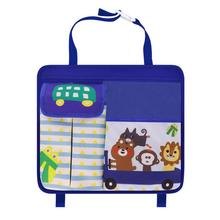 Car Storage Bag Hanging Seat Oxford Cloth Back Touchable Mobile Phone Interior Supplies