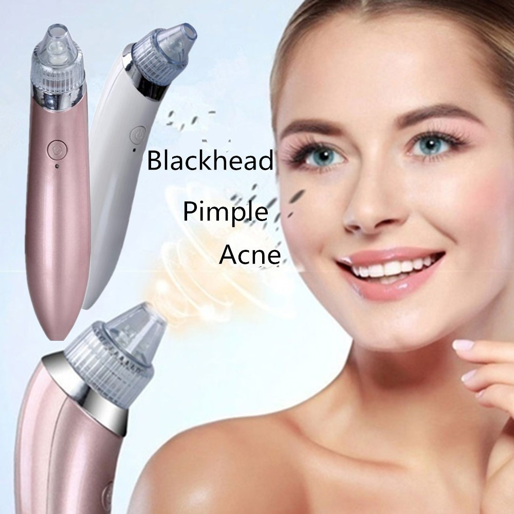 Remove Blackhead Vacuum Face Pimple Tool Acne Cleaner Nose Black Head Suction Facial Lifting Skin Tightening Rejuvenation Beauty