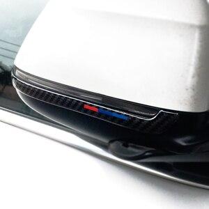 Image 5 - Espejo retrovisor de fibra de carbono para coche, tira anticolisión, cubierta antifricción, para BMW X3, X4, X5, X6, F25, F26, F15, F16, 2 uds.