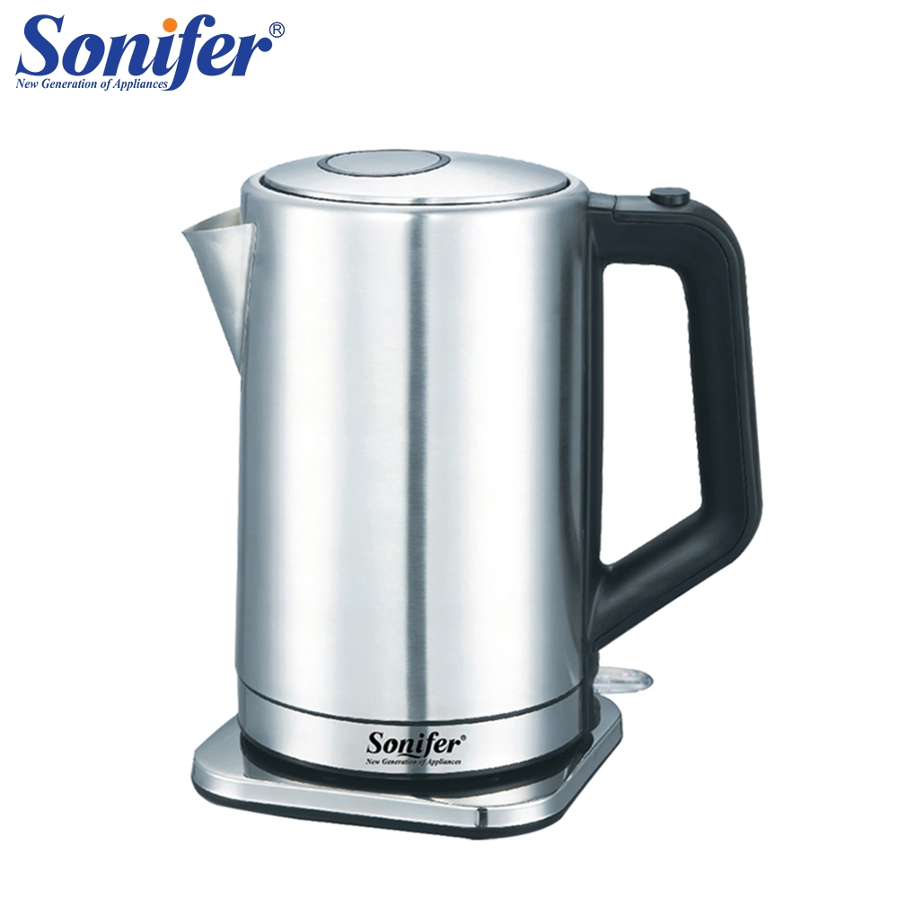 3L 304 Stainless Steel Electric Kettle High Capacity 2000W Household Quick Heating Electric Boiling Pot Sonifer