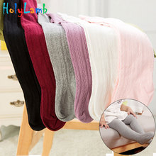 11.11 Infant Soft Cotton Baby Girl Tights Newborn Casual Solid Warm Tights Kid Dancing Pantyhose Baby Stockings