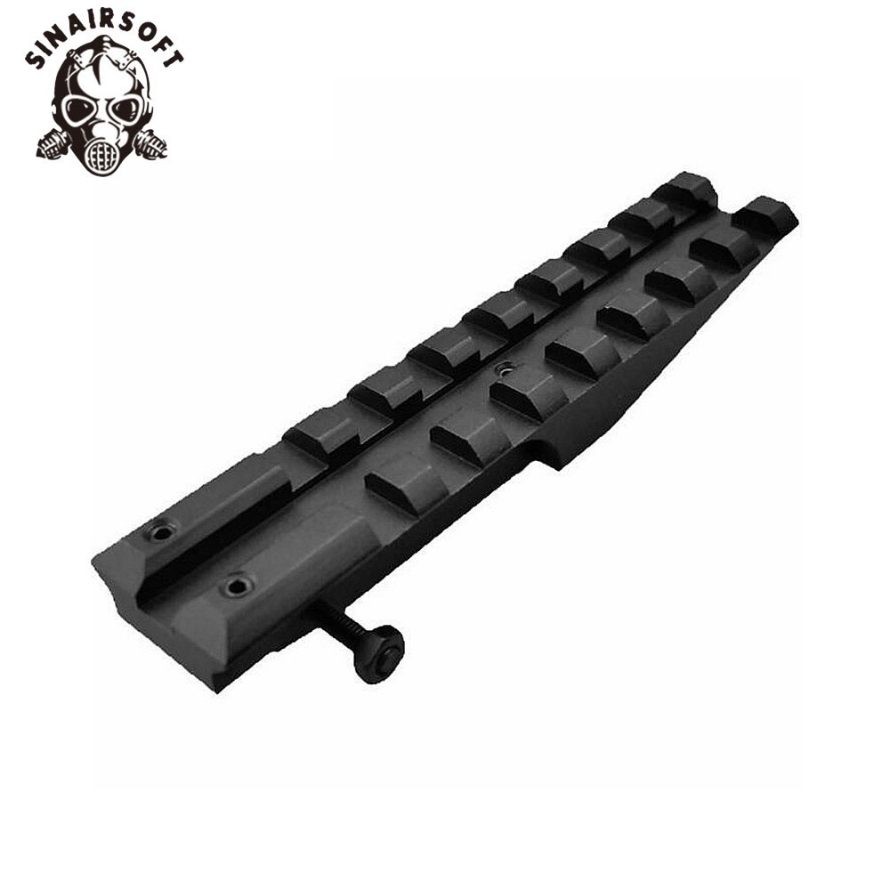 Supply 1pcs Tactical Picatinny Rear Weaver 20mm Rail Mount For Ak Series Airsoft Electric Gun Aeg Ak 47 Sight Rail Hunting Scope Mount Hunting Optics Hunting