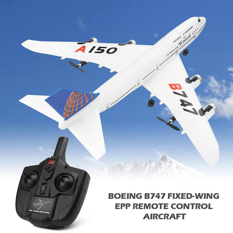 Dependable For Weili Xka150 3ch Rc Airplane Boeing B747 Model Fixed Wing Epp Remote Control Aircraft Toys Birthday Gift Discounts Sale