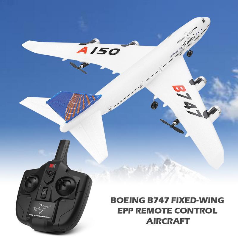 Pour Weili XKA150 3CH RC avion Boeing B747 modèle aile fixe EPP télécommande avion jouets cadeau d'anniversaire