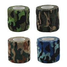 Pet Multi-purpose Self-adhesive Elastic Bandage Camouflage Stick To Each Other Wholesale