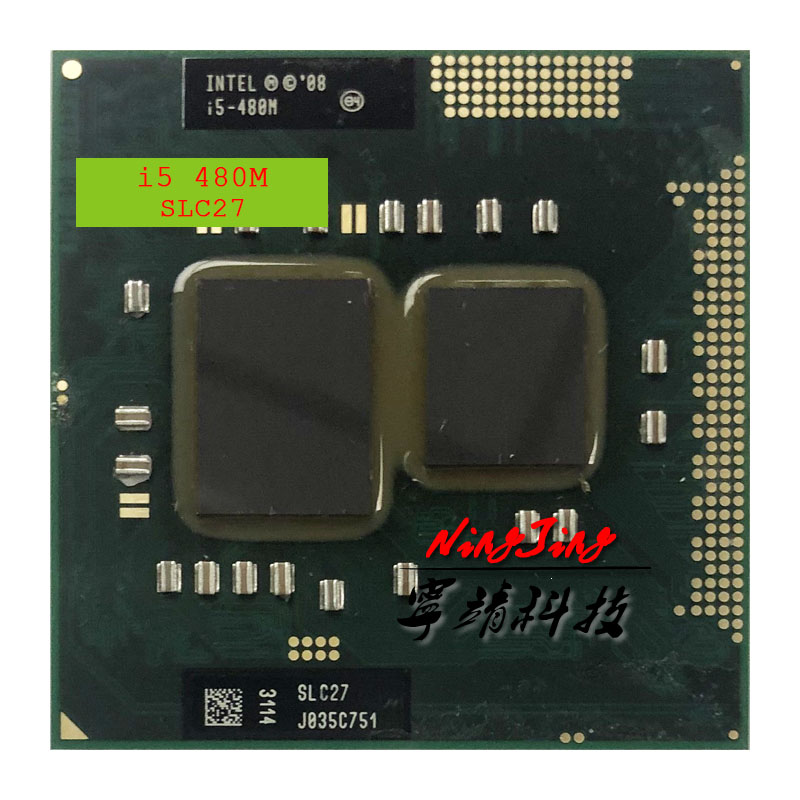 Intel Core i5-480M i5 480M SLC27 2.6 GHz Dual-Core Quad-Thread CPU Processor 3W 35W Socket G1 / rPGA988A(China)