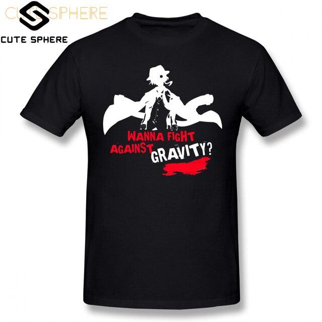 Bungou Stray Dogs T Shirt Chuuya Nakahara T-Shirt Short Sleeve 5x Tee Shirt Basic Men Fun Graphic Cotton Tshirt