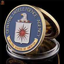 USA CIA Central Intelligence Agency Great Seal Of The United States Challenge Metal Coin Collectibles Value
