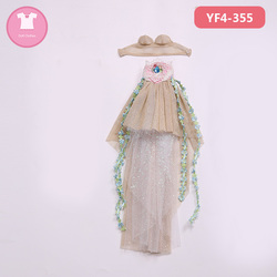 BJD Doll Clothes 1/4 Dress Beautiful Clothes Summary Link For Minifee Fairyline Girl Body accessories Fairyland YF4-355 YF4-356