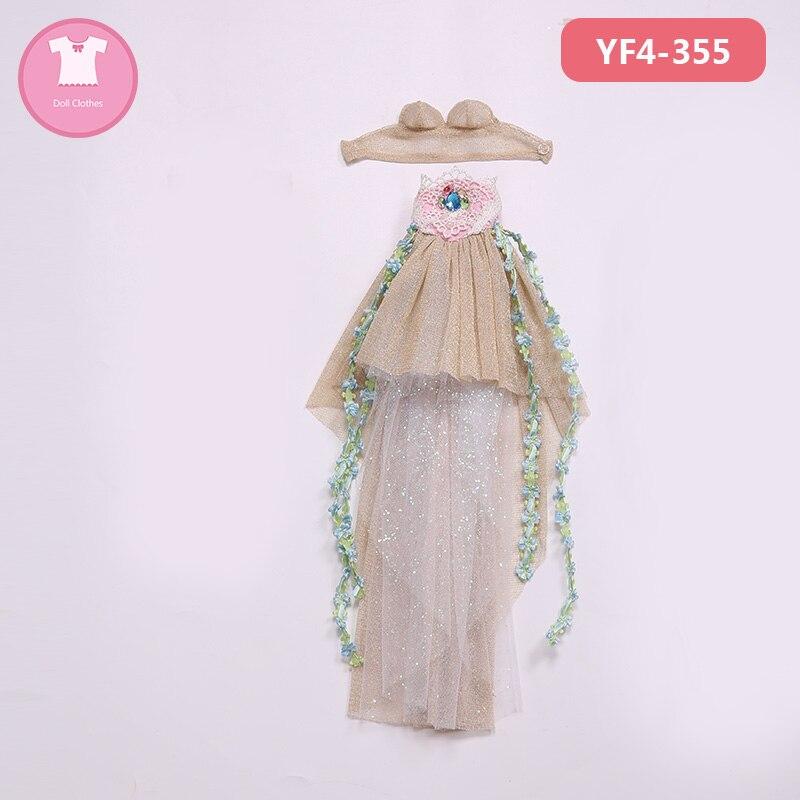BJD Poupée Vêtements 1/4 Robe Belle Vêtements Résumé Lien Pour Minifee Fairyline Fille Corps accessoires Féerie YF4-355 YF4-356