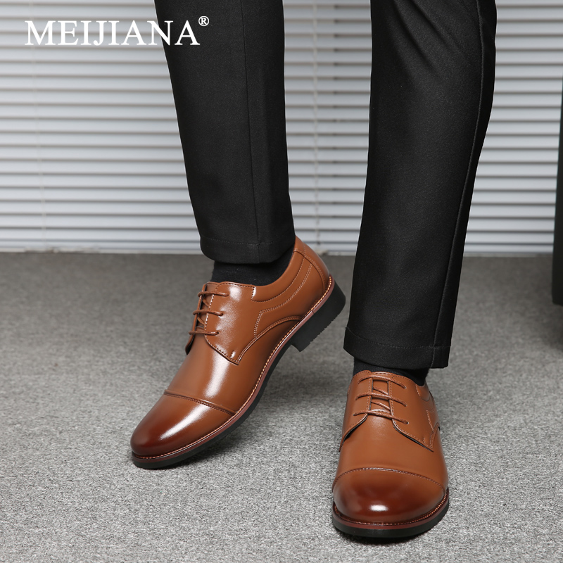 Shoes Sneakers Formal Shoes Sapato Men Oxford Shoes Shoes Leather Oxfords Men Brown Black Dress