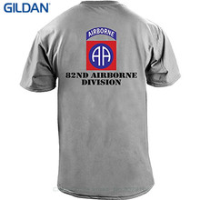 100 % Cotton Tee Shirt For Men Customizeable Army 82nd Airborne Full Color  Veteran T- 849cf182f