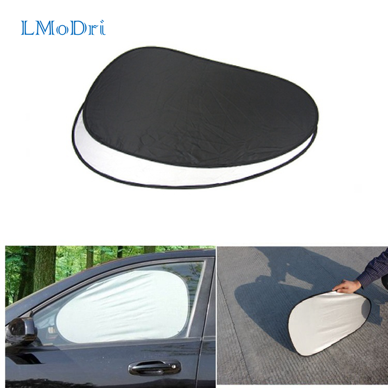 LMoDri Car Side Window Sun Shade Auto Windshield Window Foils Solar Protection Visor Cover Block Sunshade Foldable Cover