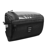 Waterproof Bike Bag For Bicycle Handlebar Front Frame Bag For Bicycle With 6 Inch Touchscreen Phone Case For Bike