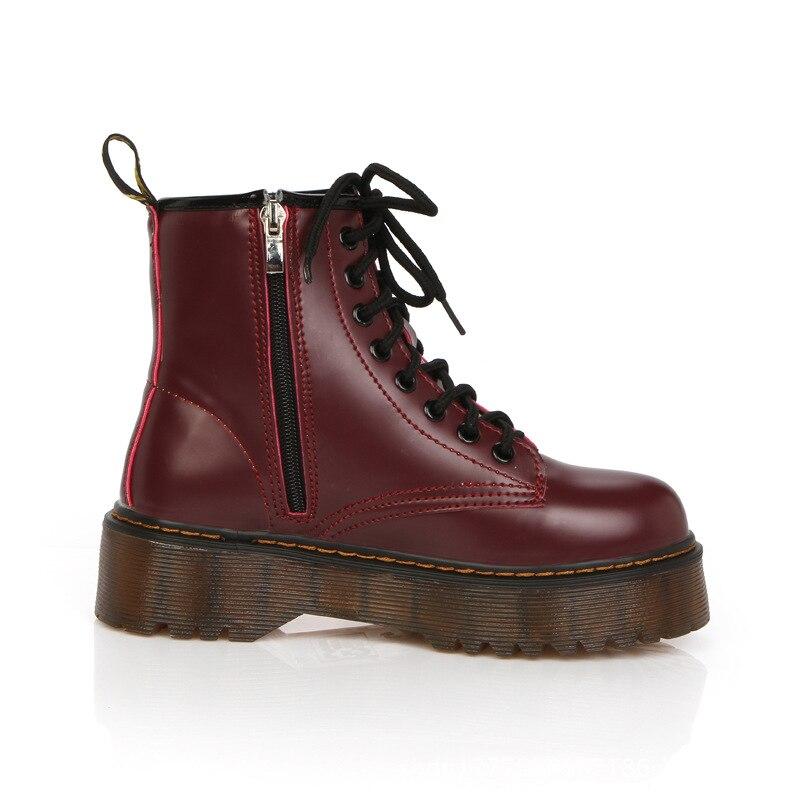 Short Black Moto Boots Womens
