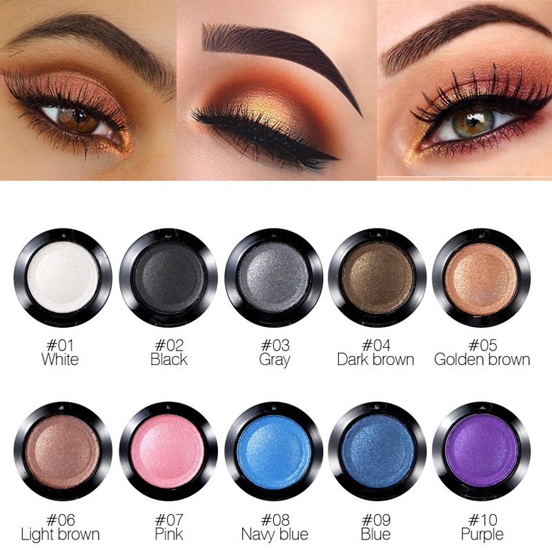 16 Color Professional Nude Eyeshadow Palette Makeup Matte Eye Shadow Palette Glitter Single Eyeshadow With Mirror