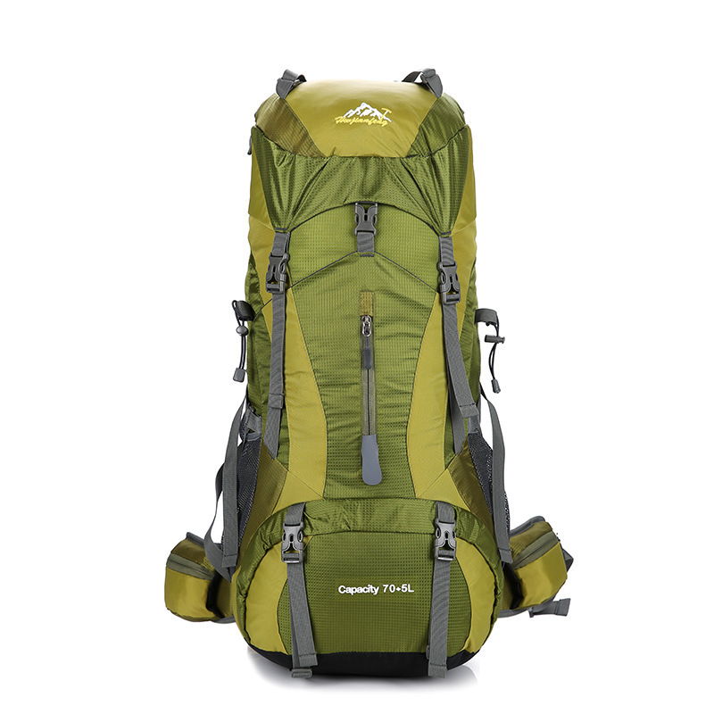Outdoors 70L Large Capacity Camping Shoulders Package Men Women Waterproof Cover Wear Resistant Backpack Climbing Hiking BagsOutdoors 70L Large Capacity Camping Shoulders Package Men Women Waterproof Cover Wear Resistant Backpack Climbing Hiking Bags
