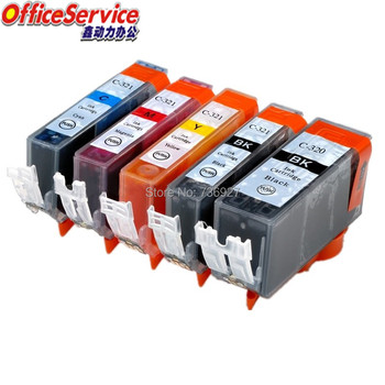 PGI320 PGI321 BCI-320 BCI-321 Compatible Ink Cartridge For Canon ,suit for IP3600 MX870 MP550 MP560 MP620 MP640 MP990 printer image