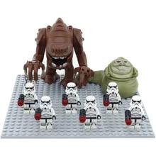 10pcs/lot Dewback/ 8pcs/lot Jabba Compatible legoiner Star Warsing Building Block Toys for Kid Action ROBOT Sandtroopers