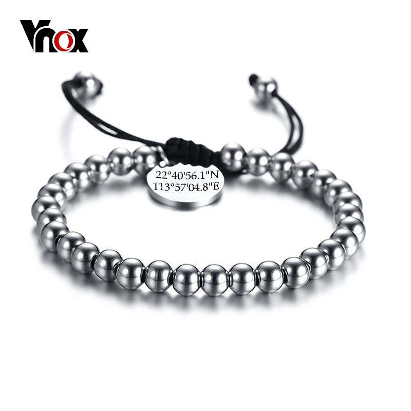 Vnox Adjustable Rope Chain...