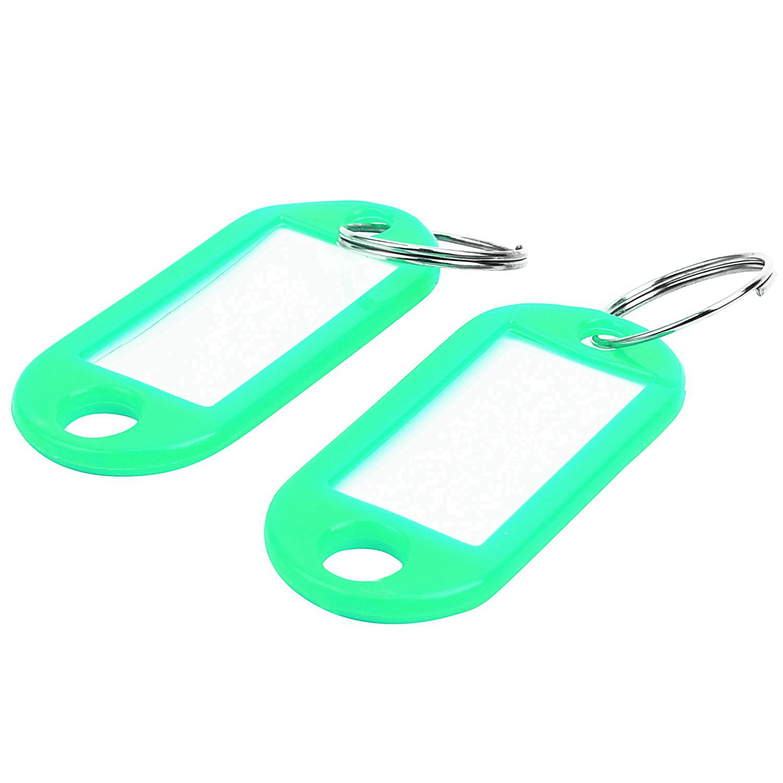 Key Ring Tags (50PCS Green)