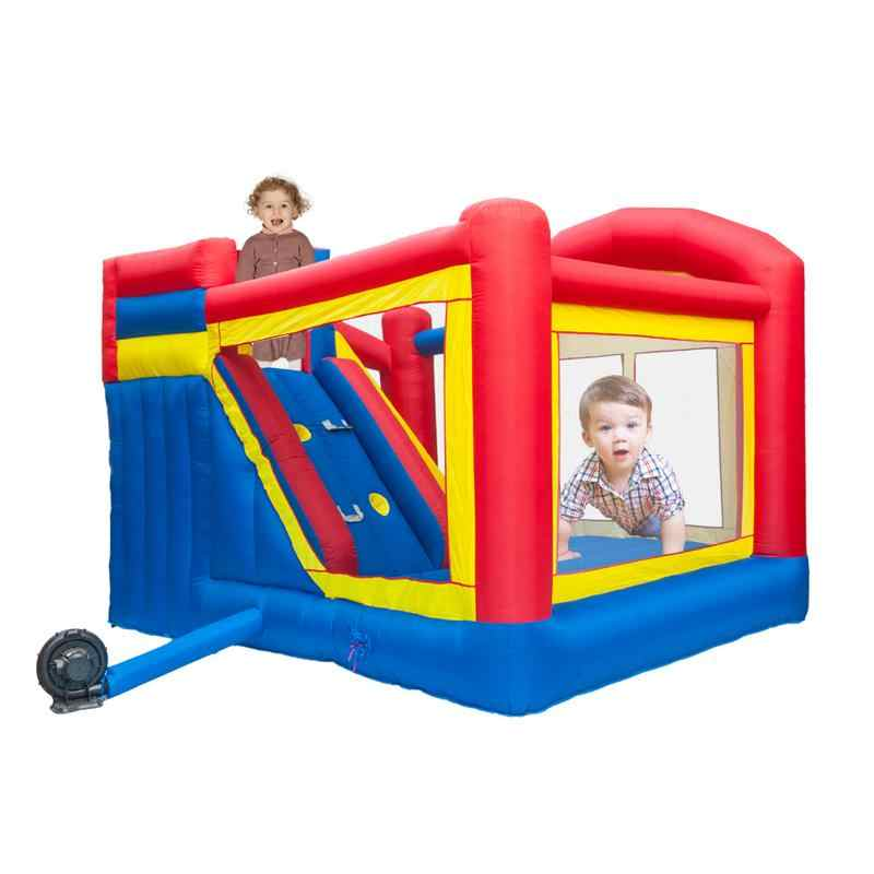 Inflatable Bouncy Castle Moonwalk Jumping Bouncer House Children Fun Play Toys US Fast Delivery