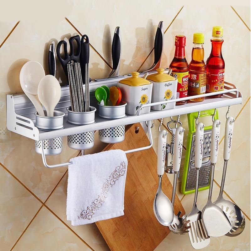 Kitchen Storage Zones: Aliexpress.com : Buy Aluminum Kitchen Shelf Rack Cooking