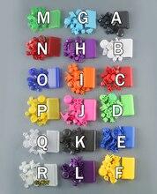 18 renk Isteğe Bağlı L1 R1 L2 R2 Tetik Düğmeleri Set değiştirme PS4 Pro denetleyici PS4 4.0 JDS 040 JDM 040 Düğmeler Kiti