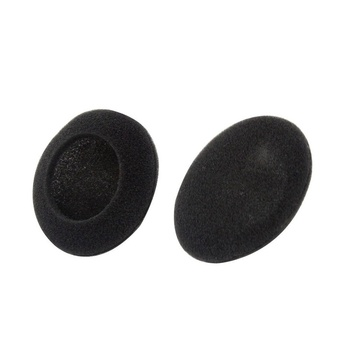 Foam Pad Ear Pad Cover for Headphone (Black, 50mm, Packet Of 2 Pcs)