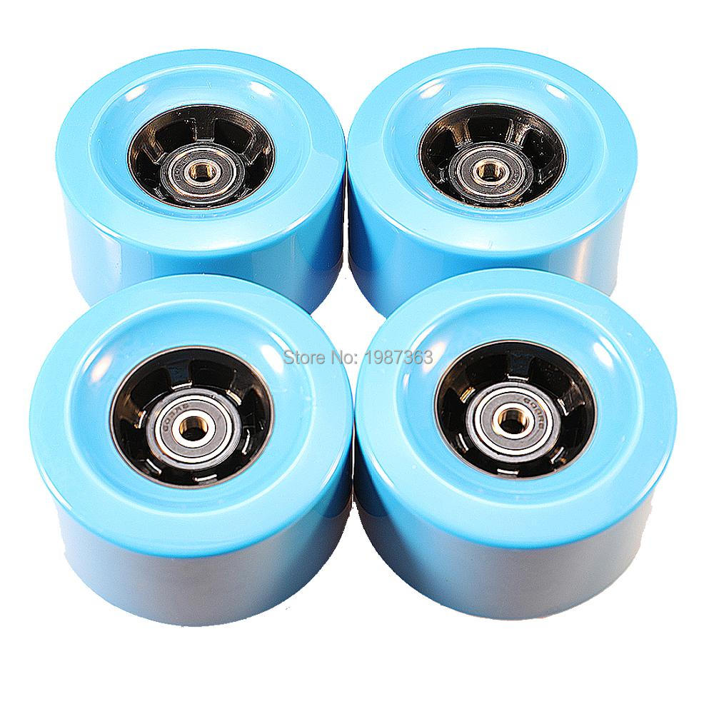 Skateboard Longboard Wheel 90*52mm 78A Bearing Included For DIY Electric Skateboard
