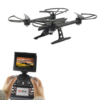 JXD 510G 5.8G FPV 2.0MP Camera 2.4GHz 4CH 6 Axis Gyro RC Quadcopter Barometer Set Height One Key To Return RC Toys For Kids