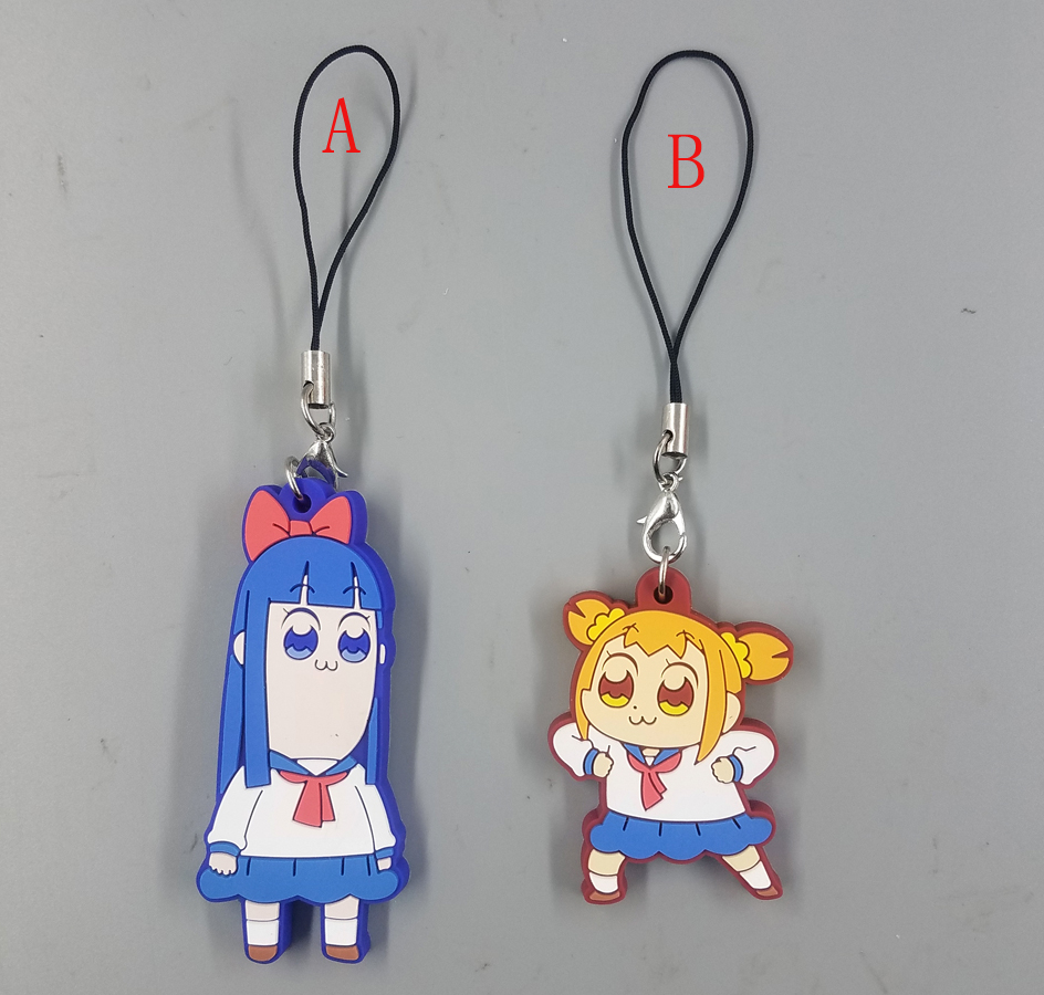 Hsiu Pipimi Popko Figures Cosplay Toy POP TEAM EPIC Figures Phone Strap/Keychain Pendant Toys Free Shipping