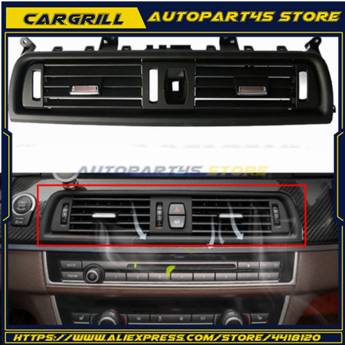 Car Front Console Center Gril Dash AC Air Heater Vent For <font><b>BMW</b></font> F10 <font><b>F11</b></font> F18 64229166885 5 Series 520 523 525 528 530 535 For <font><b>BMW</b></font> image
