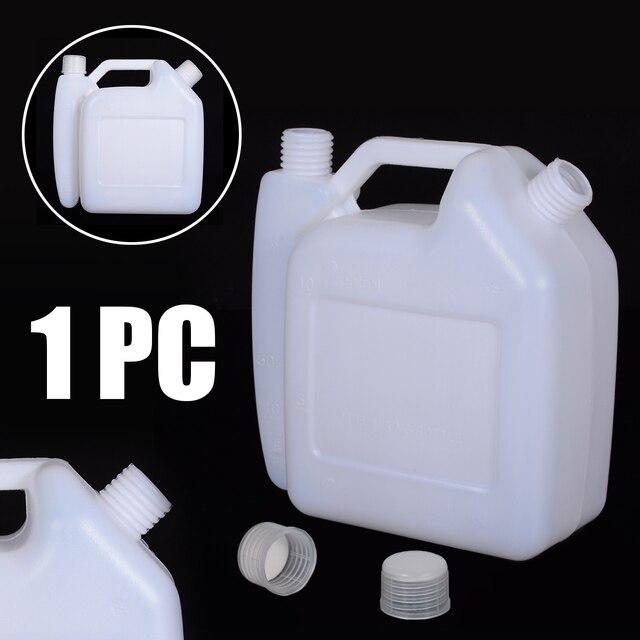 Mayitr tanque de Botella Mezcladora de aceite y gasolina de 2 tiempos, 1,5 l, para recortador, herramientas para motosierra, 1:25