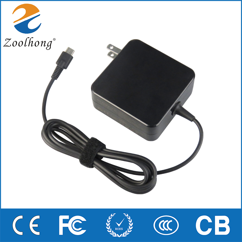20 v 3.25A 65 w Universel USB Type C Portable Mobile Téléphone Power Adapter Chargeur pour Lenovo Asus HP Dell xiaomi Huawei Google UX390U