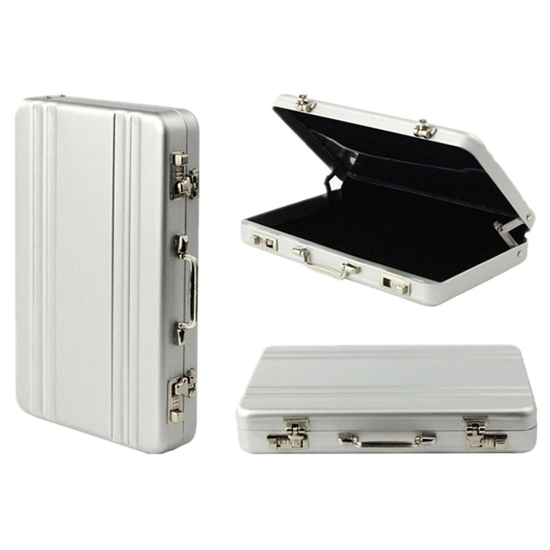 Mini Case Form Card Case (Silver)