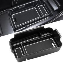 Auto Bracciolo Centrale Scatola di Immagazzinaggio Contenitore di Supporto Con Silicone Zerbino Per Volvo XC40 2019 Accessori per Interni Auto
