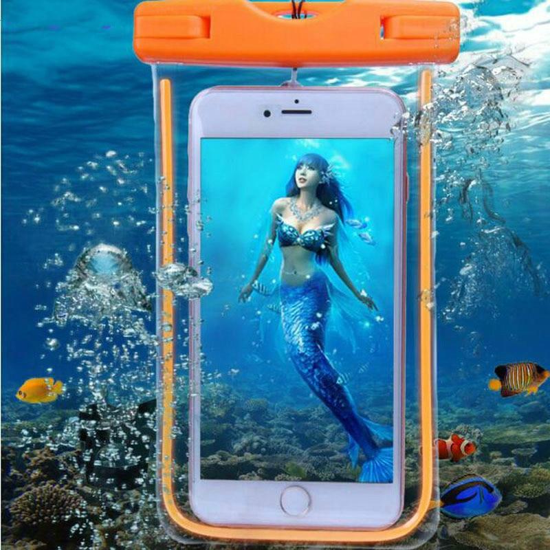 Universal Waterproof Bag Case For Xiaomi Redmi Waterproof Phone Case For Xiomi Redmi Note4x Underwater Light Box Waterproof Case