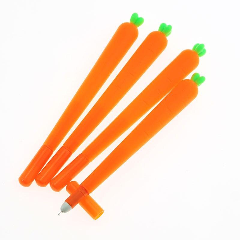 Эллен Brook цельнокроеное платье корейских канцелярские мультфильм милый морковная ручка рекламы творческая школа офиса гелевые ручки подар...