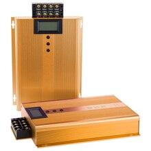 جهاز ذكي 3 ثلاث مراحل موفر الطاقة الذكية صندوق توفير الكهرباء فاتورة القاتل للمصنع مع مقياس الجهد LCD