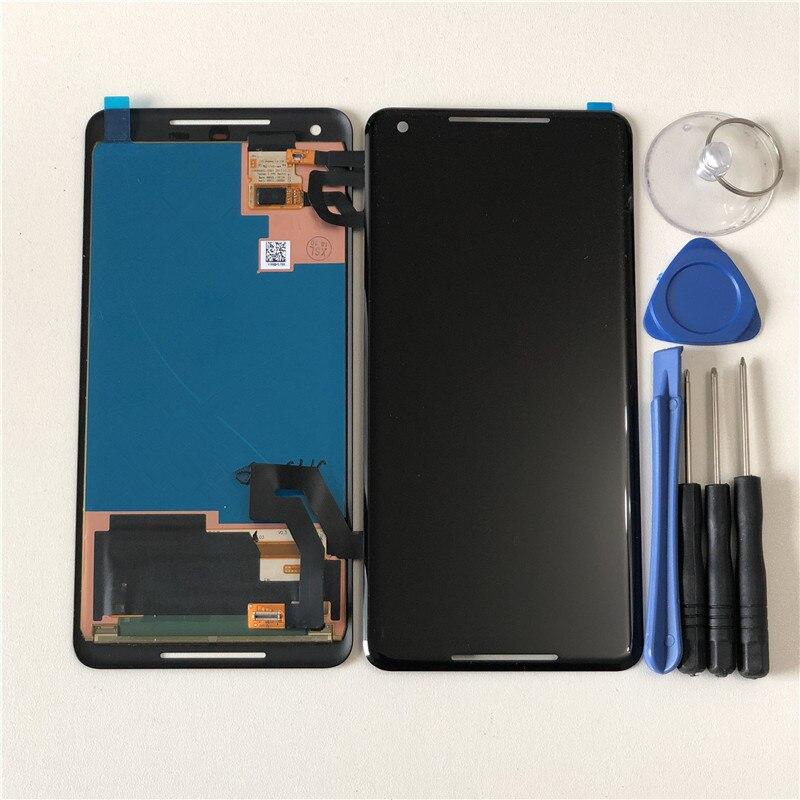 Original M Sen For 6 0 HTC Google Pixel 2XL LCD Screen Display Touch Panel Digitizer
