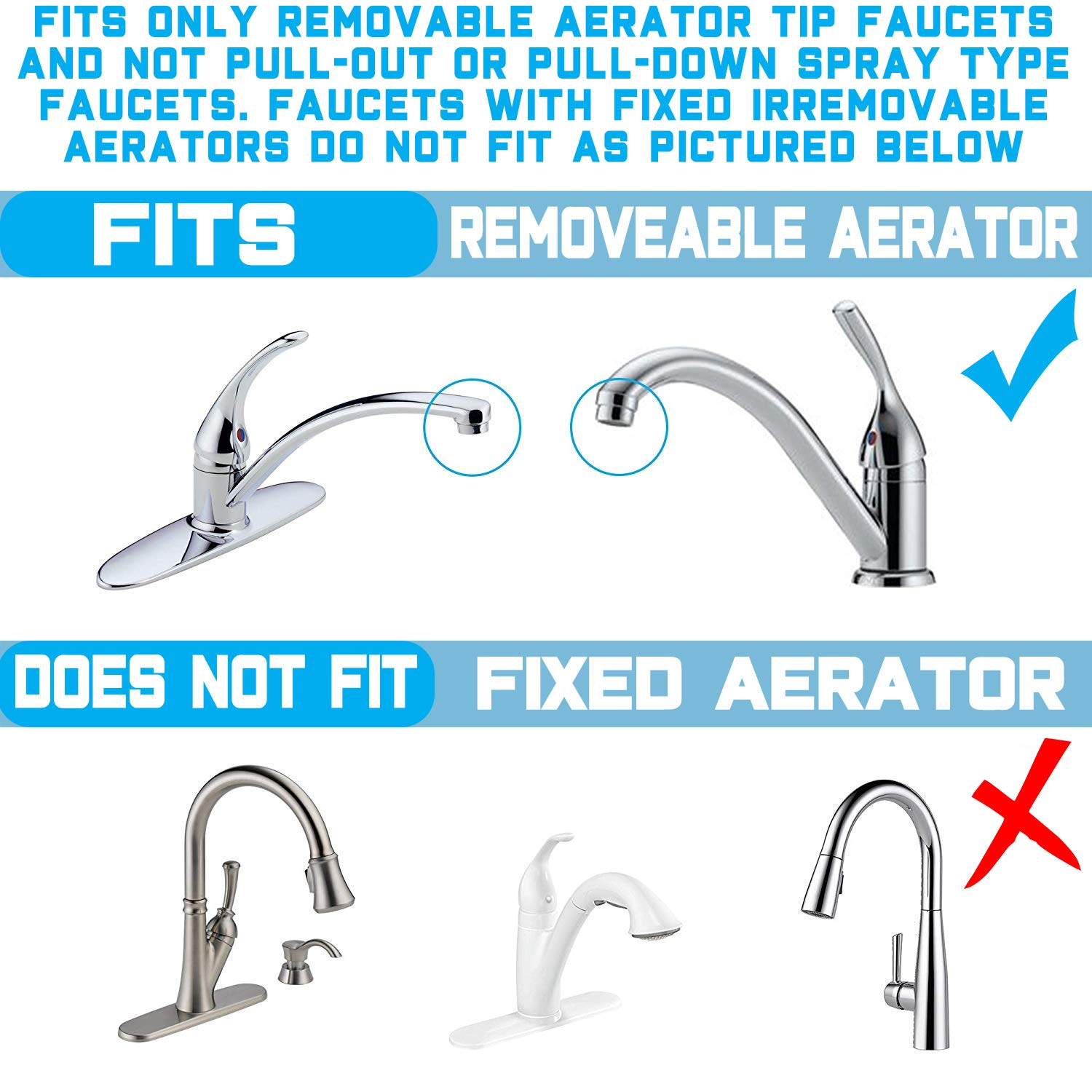 Premium Countertop Water Filtration System ? Easy To Use Portable Faucet Mounted Filter Transforms Tap Water Into Drinking Wat