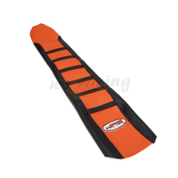 Pro Ribbed Motorcycle Soft-Girp Gripper Rubber Soft Seat Cover For KTM XCW450 12 13 14 15 EXC500 XCW500 12-15 SX525 11-15