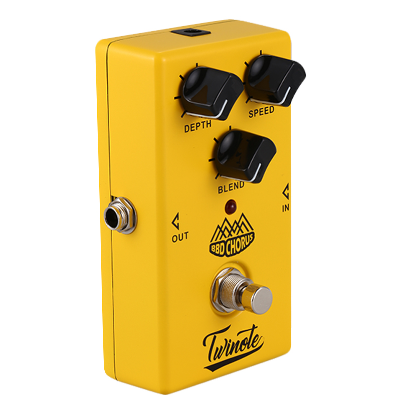 twinote bbd chorus guitar effect pedal analog chorus effects pedal sound guitar pedal in guitar. Black Bedroom Furniture Sets. Home Design Ideas