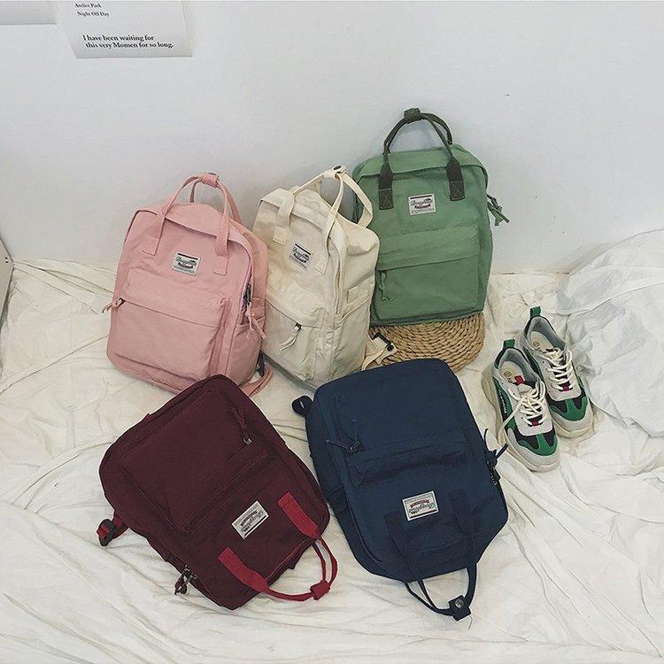 Women Backpacks For School Teenagers Girls School Bag Ladies Soft Fabric Backpack Female Book Bag Mochilas