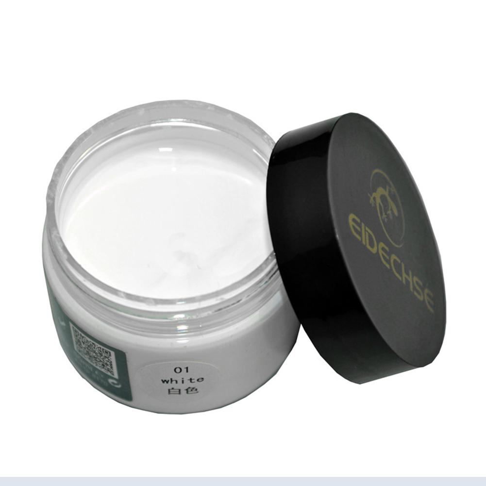 50ML Leather Recoloring Balm Renew Restore Repair Color To Faded Scratched Leather For Couches Car Seats Clothing Purses 1.7 Oz