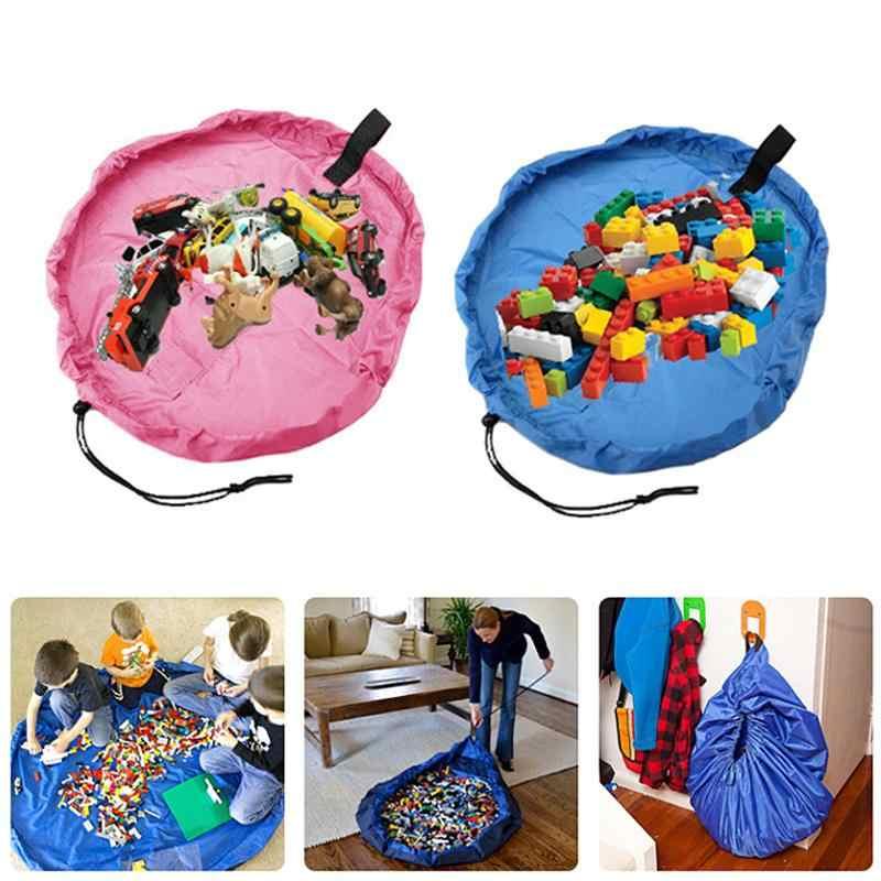45/150cm portátil crianças bebê jogar esteira brinquedos do bebê saco de armazenamento rápido casa piquenique carro brinquedos bolsa rápida caso brinquedo tendas