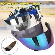 Lente del casco del fronte pieno del motociclo del casco visiera Per LS2 FF352 FF351 FF369 FF384