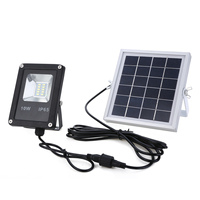 10W LED Waterproof Solar Lamp Powered Sensor Spotlights Flood Light Garden Outdoor Security Lamp Mayitr